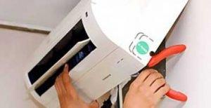 Installazione e manutenzione di aria condizionata